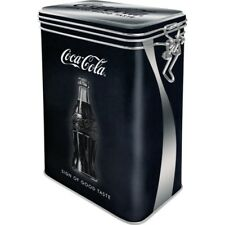 Coca Cola Aromadose with Clamp Lock Storage Hoard Box Metal, New