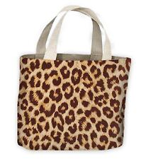 Leopard Skin Pattern Tote Shopping Bag For Life