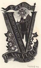 Ex Libris Cor de Wolff : Opus 75b, L. van Vught Pr.