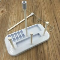 3 Thread Spool Holder Stand Rack Sew Quilting for Home Sewing Machine Blue Good