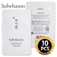 Sulwhasoo Snowise Brightening Exfoliating Mask 4ml x 10pcs (40ml) Gel Newist Ver