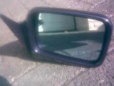 Außenspiegel, BMW E34 re., blau, elektr.