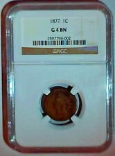 1877 INDIAN CENT NGC G4 KEY DATE NO PROBLEM COIN