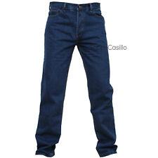 Jeans Uomo Pantalone Cinque Tasche Regular Fit Classico Gamba Dritta Vita Alta