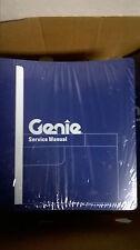 Genie S-100 105 120 125 SERVICE SHOP REPAIR MANUAL BOOM LIFT PLATFORM 62401