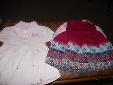 """18"""" Doll Handmade Retired Doll Clothes Cord Jumper & Tee/Pink Collared Dress"""