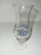 Royal Caribbean Cruise Line Blue Ship Ocean Liner Tropical Drink Glass Goblet/s