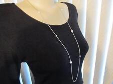 "David Yurman Pearls Strand/String Chain  Necklace 36"""