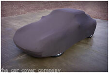 Super Soft Stretch Indoor Car Cover-Personalised Ford-Universal Fit-Black,Medium