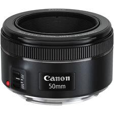 BRAND NEW Canon EF 50mm f/1.8 STM Lens Black UK DISPATCH