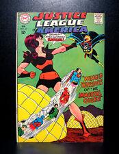 COMICS: DC: Justice League of America #60 (1968), Batgirl app - RARE