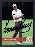 Kenny Perry #12 signed autograph auto 1992 Pro Set Golf Trading Card