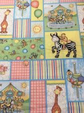 100% Cotton Quilting Fabric Bazoople Carousel Patch Cp43070 Springs Creative