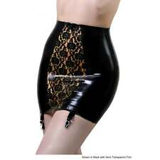 R1065 Elle Bordelle-L'Amour GIRDLE Latex Rubber Skirt Slight Seconds Size 14 UK
