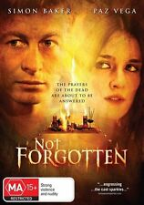 NOT FORGOTTEN, SIMON BAKER, THRILLER, REGION 4, NEW & SEALED FREE POST!