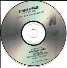 ROBBIE DUPREE This is life 1990  PROMO RADIO DJ CD single Mint Condition