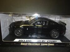 Shelby Collectibles Shelby GT500 2013 Black Wheels 1/18