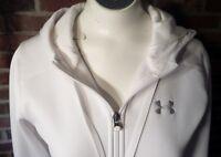 Under Armour Women's Storm, White Full Zip Hoodie XSmall VGC