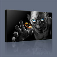 LORD OF THE RINGS SMEAGOL ICONIC THE HOBBIT CANVAS ART PRINT PICTURE ArtWilliams