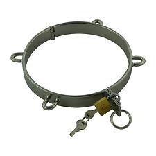 Halsring Halsreifen Halscorsage Halskorsett Ring 130mm Stahl neu