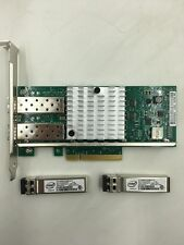 Intel/DELL X520-DA2  Dual Port E10G42BTDA+2PC Intel FTLX8571D3BCV E10GSFPSR