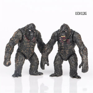 King Kong Collection 2 PCS Action Figure Cartoon Doll Gift Model Doll Kids Toy