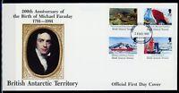 Brit. Antarktis Gebiete MiNr. 185-88 Ersttagsbriefe/ FDC Arktis (Ark5008