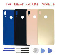 For Huawei P20 Lite Nova 3E Back Battery Cover Rear Case Replacement + Tools