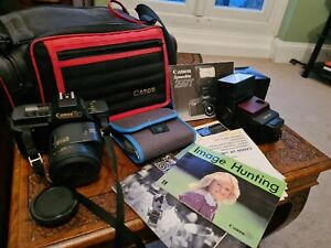 Canon T80 Camera And Speedlite299t Etc