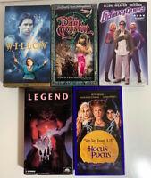 Lot of 5 Fantasy Movies - Willow Dark Crystal Galaxy Quest Legend Hocus Pocus