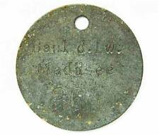 German WW2 numbered passe to the secret Kriegsmarine base Madusee badge award