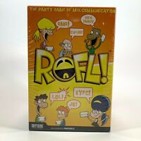ROFL! - The Party Game of Mix-Communication - 13+, 3-7 Players - NEW & SEALED