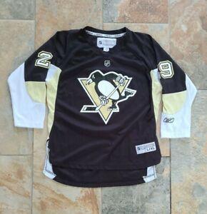 NHL Penguin Fleury #29 Reebok Jersey Youth Size XL/Women's Medium Pre-owned