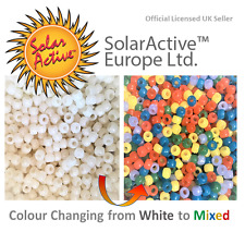 1000 SolarActive® UV Colour Change Pony Beads MADE IN THE USA - CPSIA certified