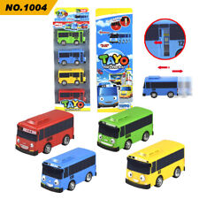 2020 New 4Pcs/set The Little Bus Tayo Pull-back vehicle Cars For Boys' Toy Gift