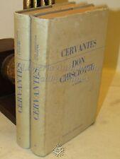 LETTERATURA - M. Cervantes: Don Chisciotte della Mancia 2 Voll. - Cremonese 1956