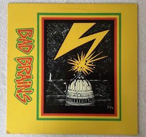 Original 1997 Bad Brains Red Vinyl Record Album  ROIR  / RUSLP 8223 Very Good