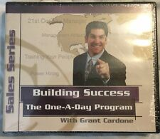 Grant Cardone One-A-Day Car Sales Training Audio Program - Brand New Sealed