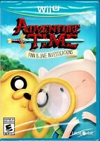 Adventure Time Finn & Jake Investigations Wii U New Crack Some Cases Detective