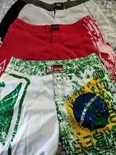 Mma shorts size Xl/36 Bad Boy Tapout Lot Three (3) Pairs