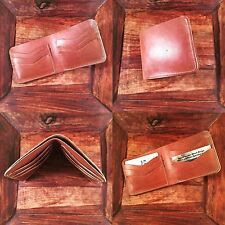 Phat Camel  Horween Leather Unique Bifold Wallet US Leather Artisan