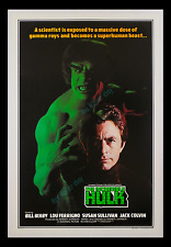 THE INCREDIBLE HULK ☆ BILL BIXBY ☆ LOU FERRIGNO ☆ RARE 1978 MOVIE POSTER 1-SHEET