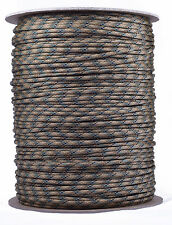 Tri-Color Camo - 550 Paracord Rope 7 strand Parachute Cord - 1000 Foot Spool