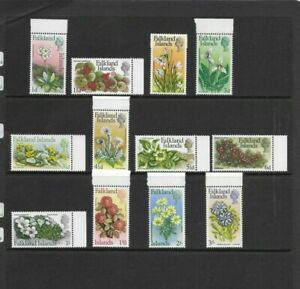 Falkland Islands Selection - Flowers - MNH - Values to 3s