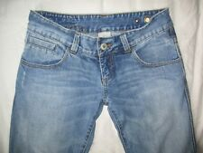 RIP CURL Blue Distressed Jeans Size S W29 L31