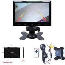 Noir Ultra Mince 7 in (environ 17.78 cm) LCD vue arrière Moniteur 16:9 HD 800*480 TFT LCD Color