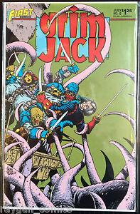 Grim Jack (Vol 1) #12 VF 1st Print Free UK P&P First Comics