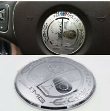 Mercedes Benz ///AMG Steering Wheel Decal Silver Badge 5.2cm For All Models