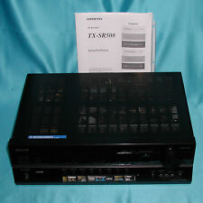 "ONKYO TX-SR508 AV Receiver ""Excellent Find Lab Tested Great Opportunity""WOWSALE!"