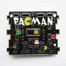 Pacman Classic Video Game Metal Belt Buckle